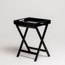 "Dion 24.5"" Rectangular Butler Tray Table with Folding Legs"