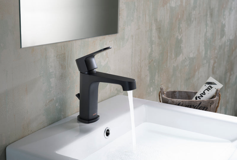 Devon Single Hole Faucet in Matte Black
