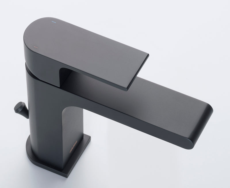 Monty Single Hole Faucet in Matte Black