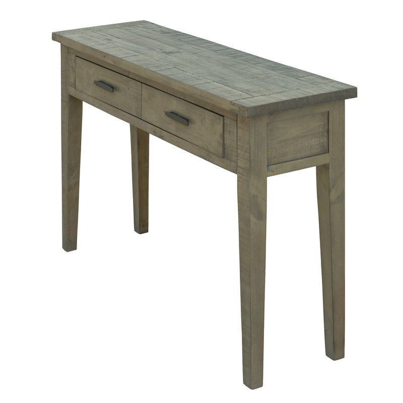 "Ashford 47"" Reclaimed Wood Console Table with Two Drawers"