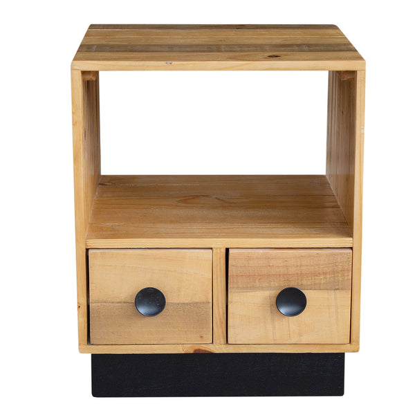 Oslo 2-Drawer Lamp Table
