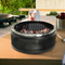 Canyon Home Portable Charcoal Grill-Black