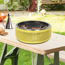 Canyon Home Portable Charcoal Grill-Yellow