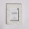 Keith Italian Carrara White Marble Picture Frame