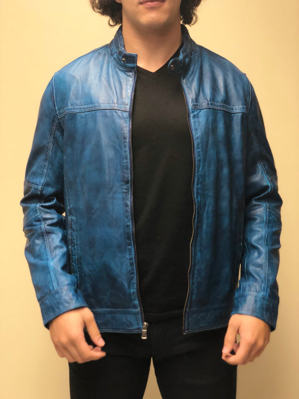 Antique Washed Lambskin Jacket