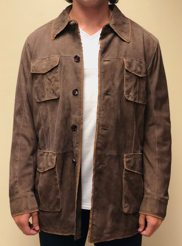 Antique Lamb Suede Jacket