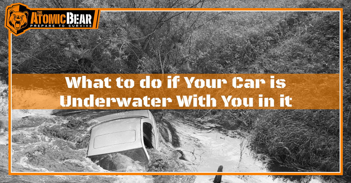 What to do if Your Car is Underwater With You in it?