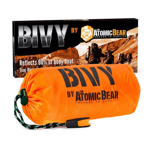 The Bear Bivy : An Emergency Reusable Sleeping Bag You Need