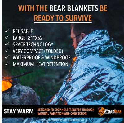 Emergency Space Blanket - The Survival Item You Can't Overlook