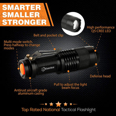 SWAT Flashlight - A Small But Powerful Tactical Flashlight