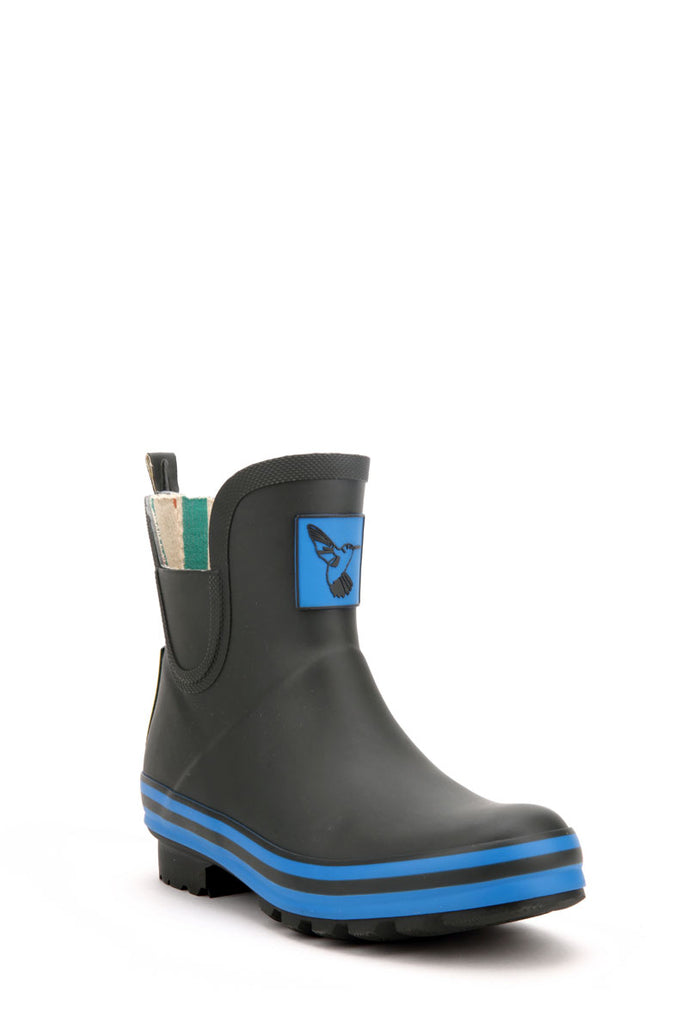Evercreatures Charcoal Meadow Ankle Wellies
