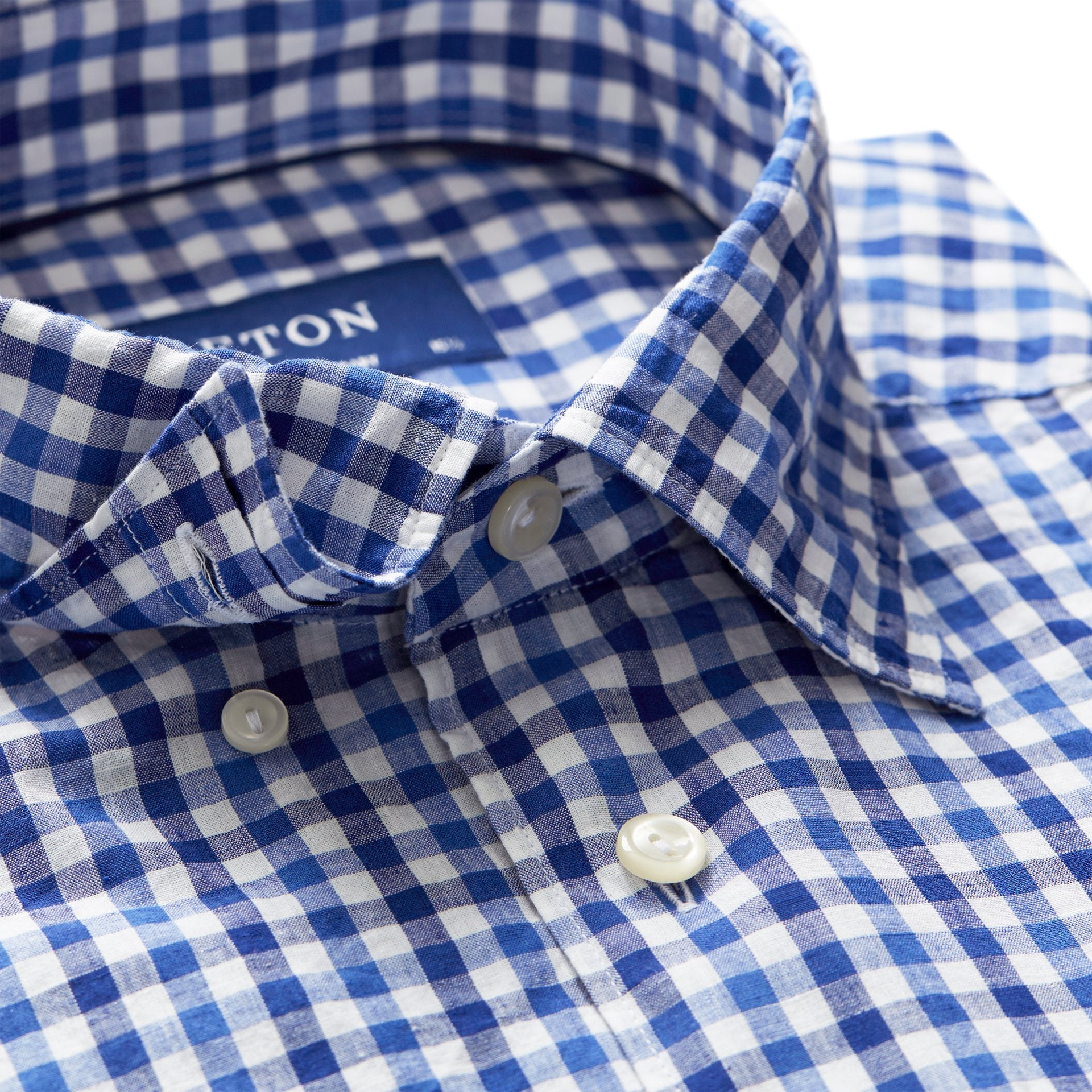Blue Check Popover Shirt