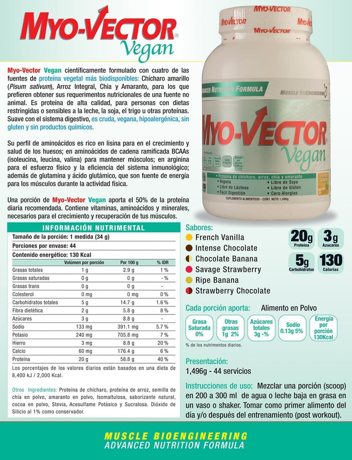 PBS MYO-VECTOR VEGAN 1.49 KG