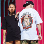 T-shirt streetwear asiatique