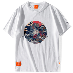 t-shirt dessin traditionnel japonais