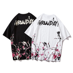 T-shirt - Sakura Wind
