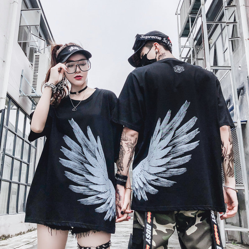 T-shirt angel wings un sublime t-shirt streetwear