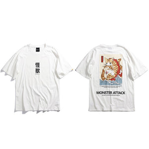 T-shirt - Monster attack