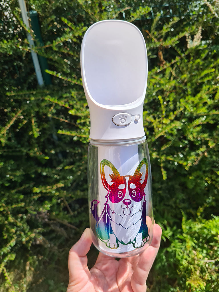 Dog water bottle - Princess Nugget Shop