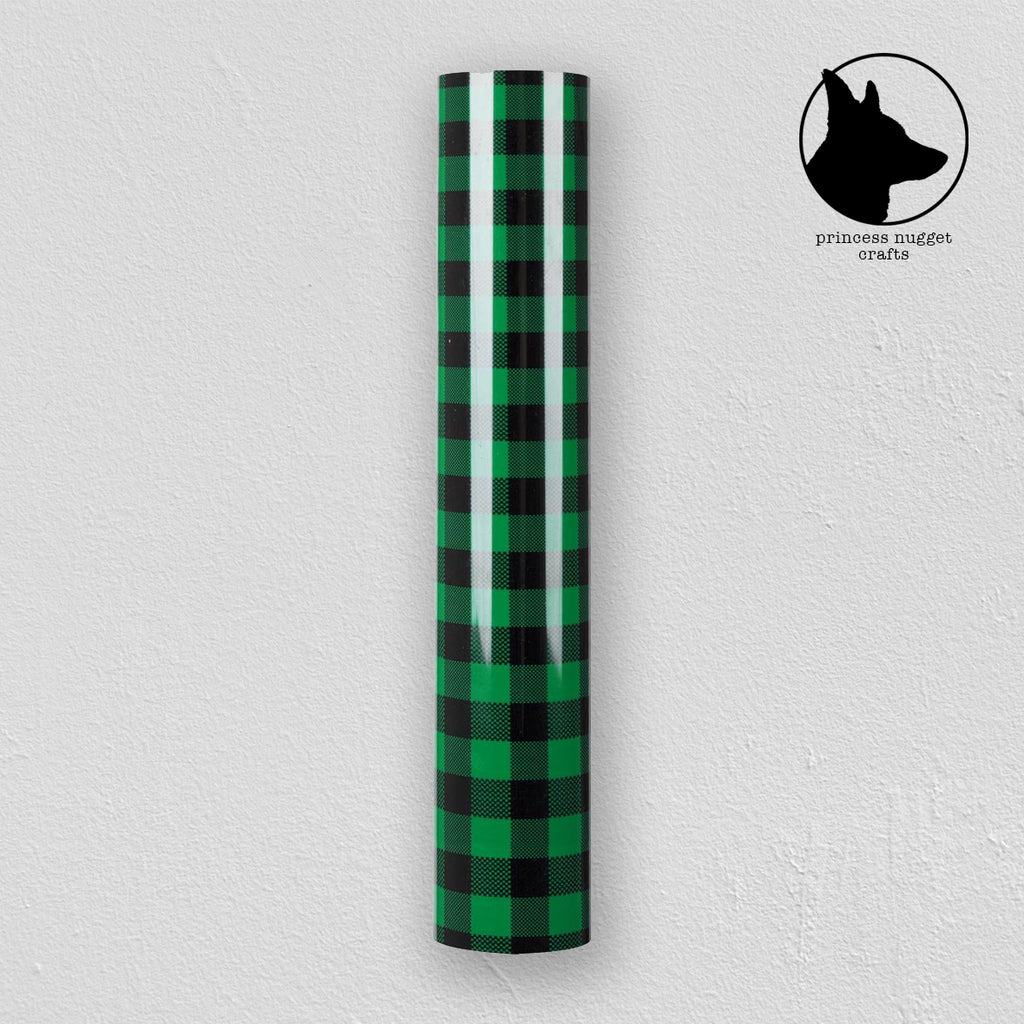 FLEX Buffalo Plaid Green & Black - Princess Nugget Shop