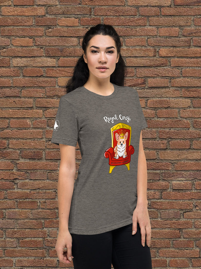 Royal Corgi unisex t-shirt - Princess Nugget Shop