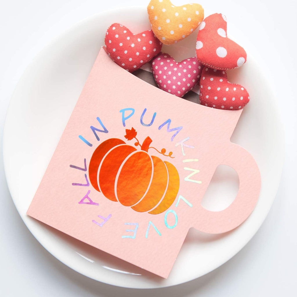 Holographic Glossy Pumpkin Orange vinyle - Princess Nugget Shop