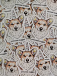 Corgi Sticker Magnet value pack - Magnet + 2 stickers