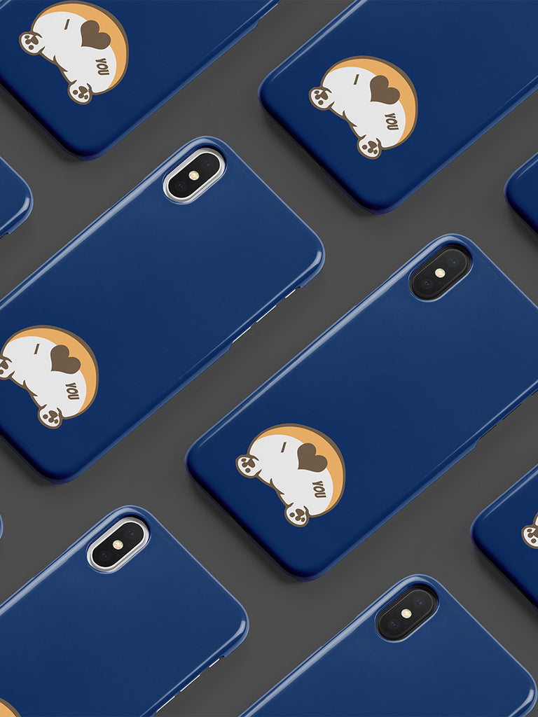 Corgi Butt Love snap case - Phone case - Princess Nugget Shop