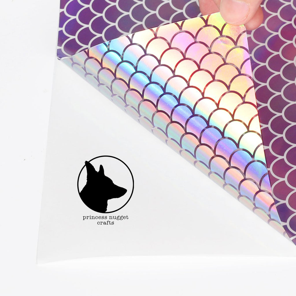 Holographic Mosaic Lilac Mermaid - Princess Nugget Shop