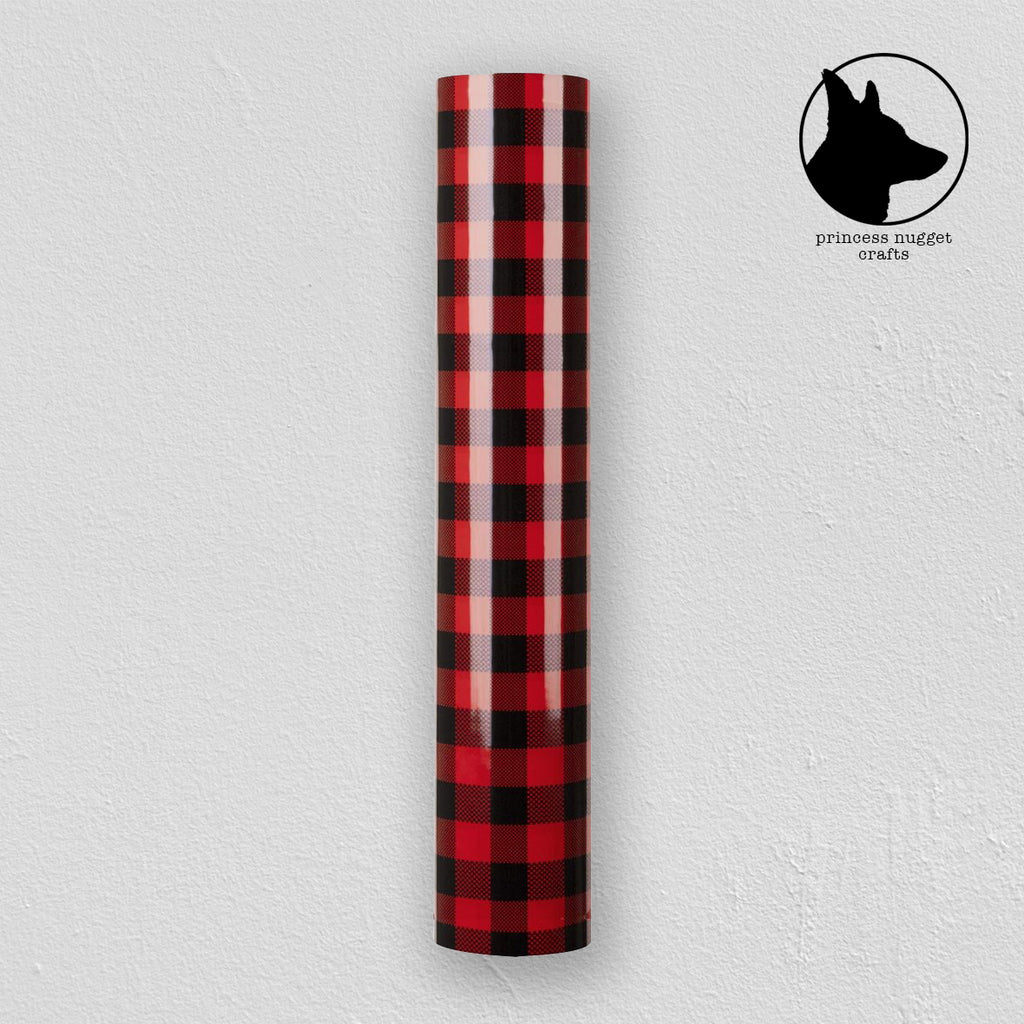 FLEX Buffalo Plaid Red & Black - Princess Nugget Shop