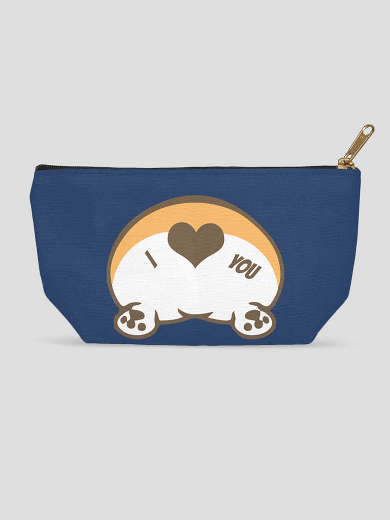 Corgi Butt Love Accessory Pouches - Princess Nugget Shop