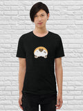 Corgi butt love Short sleeve t-shirt