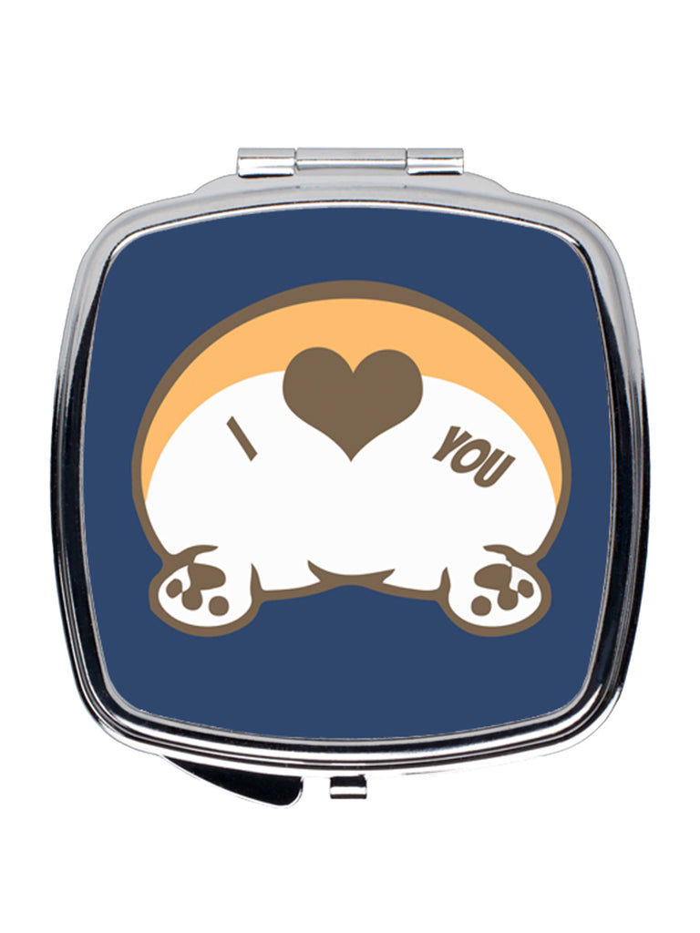 Corgi Butt Love Compact Mirror - Princess Nugget Shop