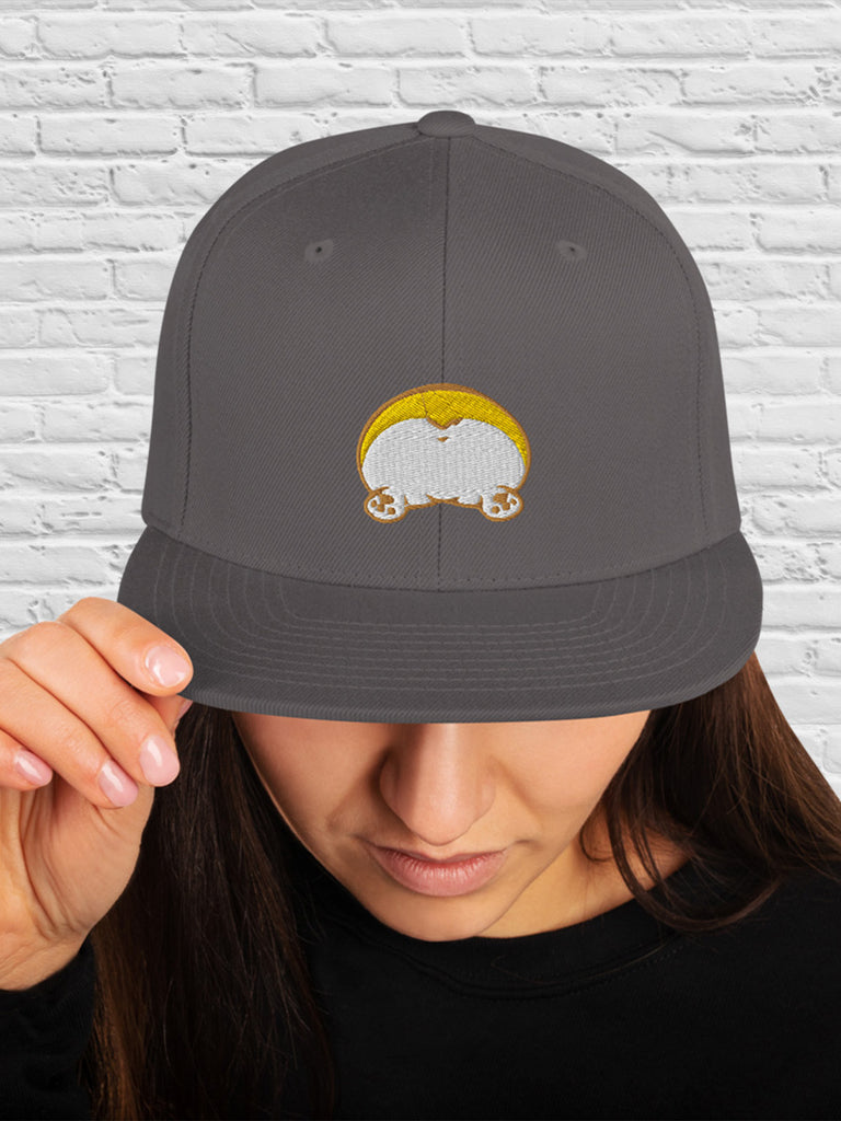 Corgi butt Classic Snapback hat - Princess Nugget Shop