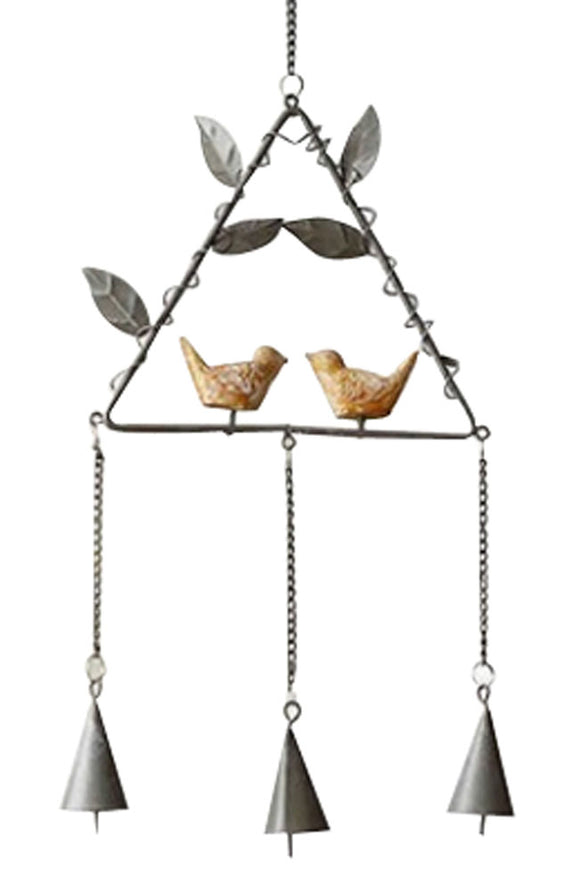 Diy Metal Bell Bells Home Accessories Wind Chime The Wind Bell Gray