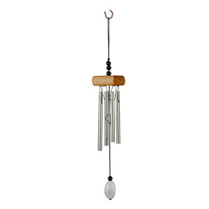 Cute And Fashionable Mini Wind Chime With White Beads (L: 27CM)