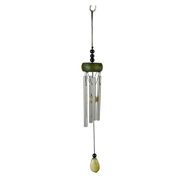 Cute And Fashionable Mini Wind Chime With Coffee Beads (L: 27CM)
