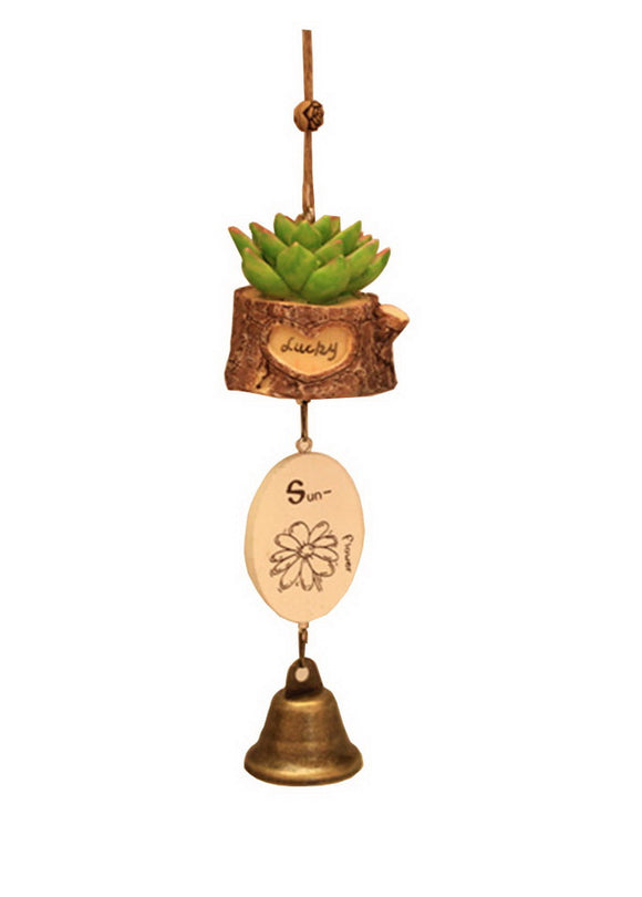 Indoor/Outdoor Decor The Cactus Wind Chime/ Doorbell [A]