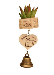 Indoor/Outdoor Decor The Cactus Wind Chime/ Doorbell [C]