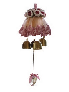 Indoor/Outdoor Decor The Rose Wind Chimes/ Doorbell [C]