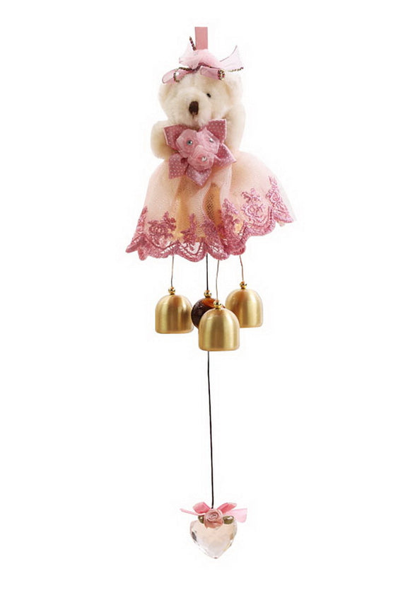 Indoor/Outdoor Decor The Princess Bear Wind Chimes/ Doorbell [C]