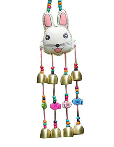 Indoor/Outdoor Decor Bronze Windchime/ Wind Chime/ Wind Bells-Rabbit