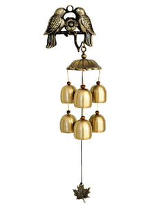 [Little Bird]Indoor/Outdoor Decor Beautiful Hook & 6 Bells Windchime/ Wind Chime