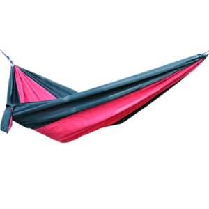 "Creative Canvas Color Matching Hammock Foldable Hammock 102*55"""" Green&Pink"