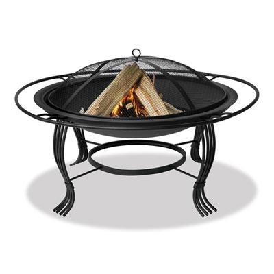 UF 34.6in Fire Bowl Black