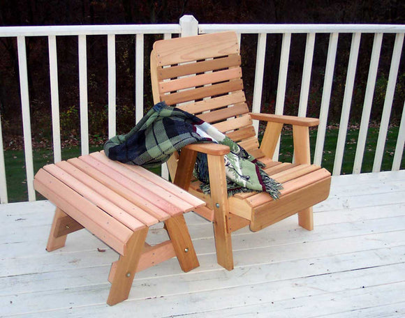 Cedar Twin Ponds Chair & Table Set