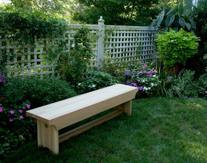 5' Cedar 1805 Traditional Heavy Duty Bench
