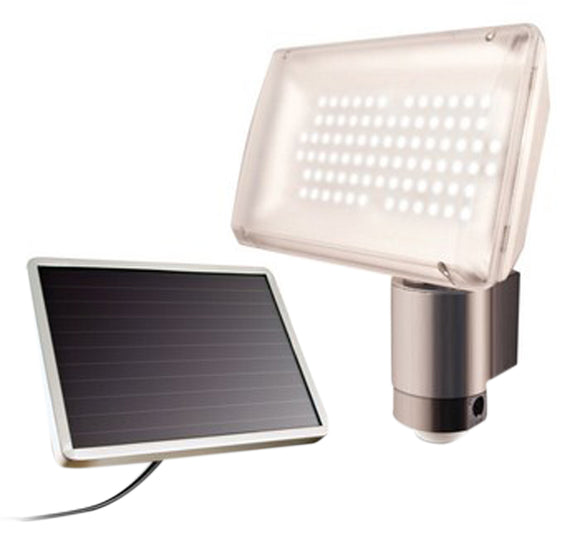 Solar-Powered Aluminum 80 Led Solar Security Light