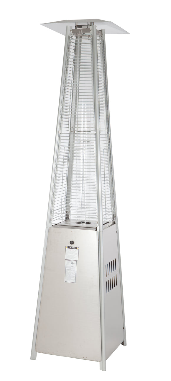 40,000 BTU Stainless Steel Pyramid Flame Heater