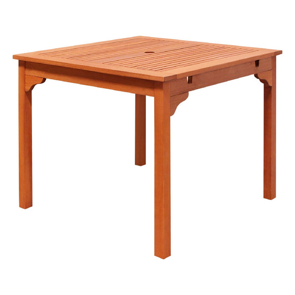 Ibiza Eucalyptus Wood Stacking Table